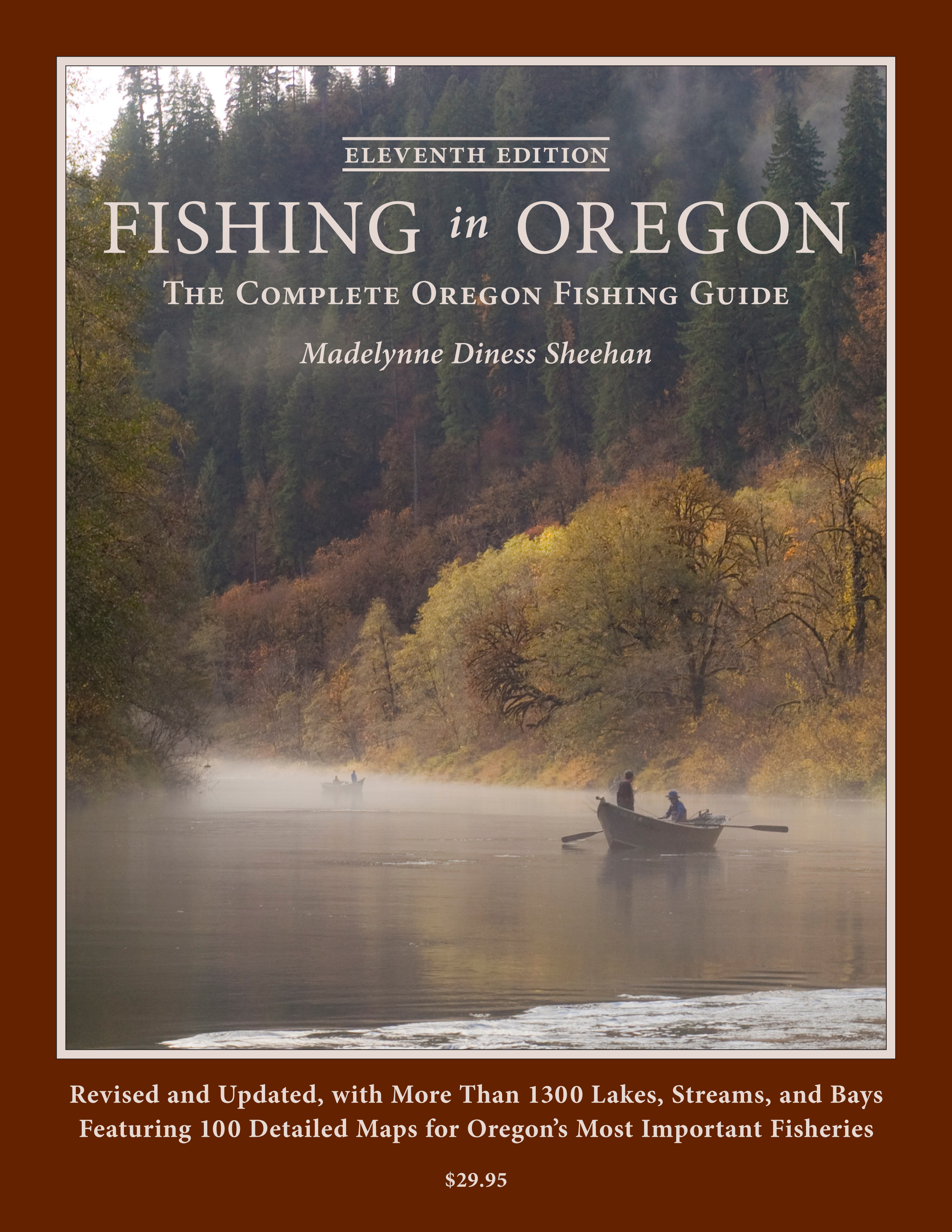 cover of fishing in oregon book