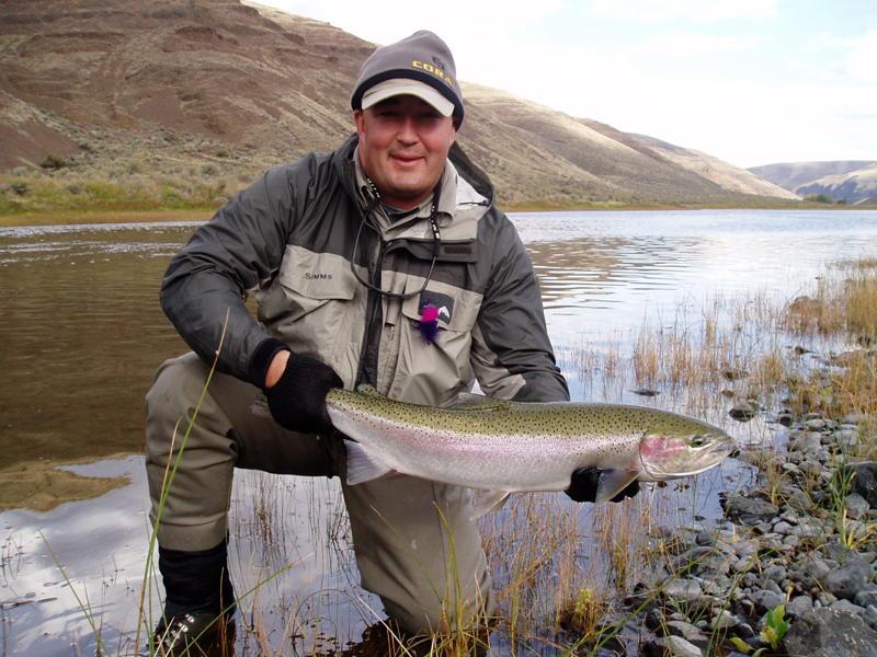 Best summer steelhead fishing oregon 39 s mid columbia area for John day river fishing