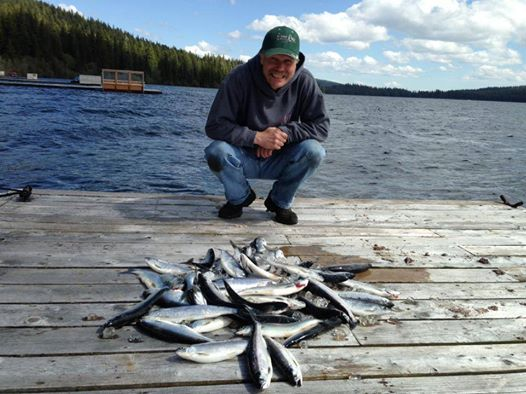 Fishing near klamath falls chiloquin and chemult for Falls lake fishing report