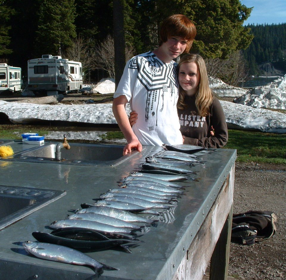 Fly fishing odell lake oregon for Central oregon fishing report