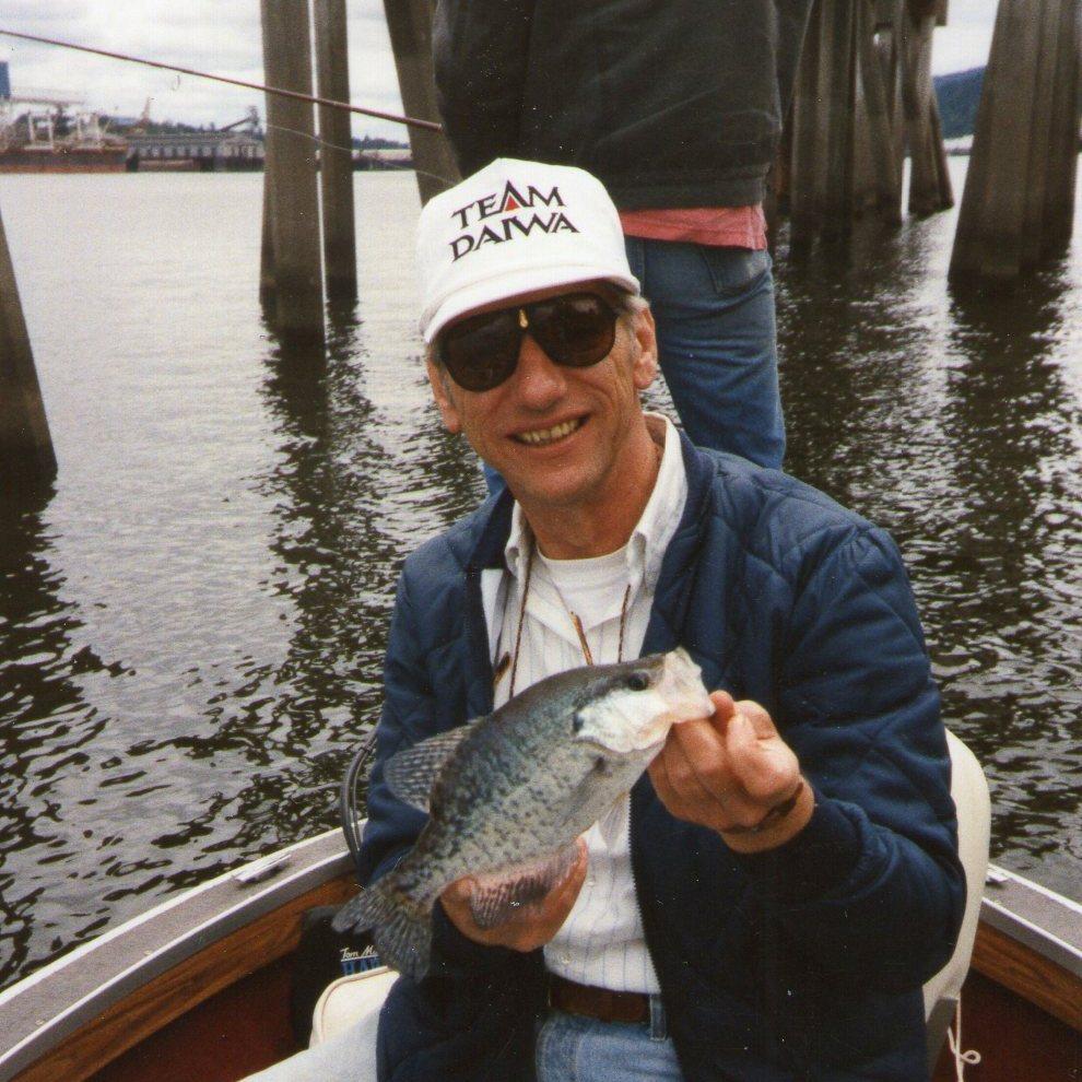 Best crappie fishing western oregon for Bass fishing oregon