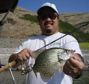 Best crappie fishing central and eastern oregon for Prineville reservoir fishing