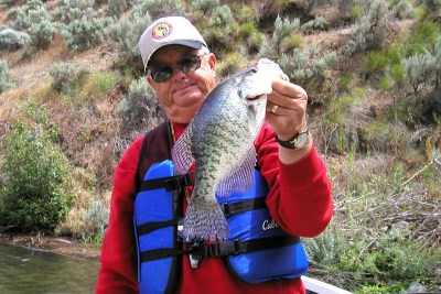 crappie fishing brownlee reservoir