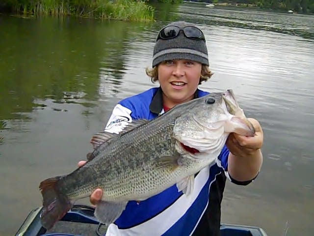 best largemouth bass fishing western oregon