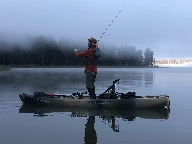davis lake fly fishing for largemouth bass