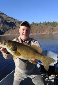 john day river spring smallmouth bass fishing