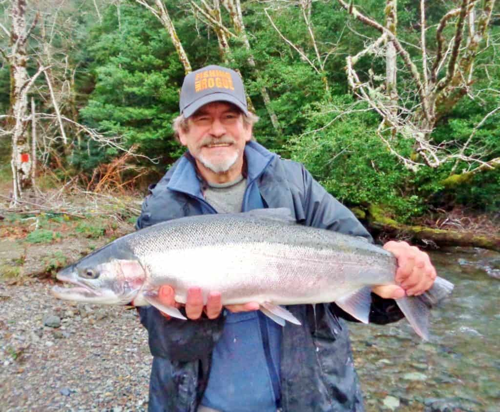 elk river oregon steelhead fishing