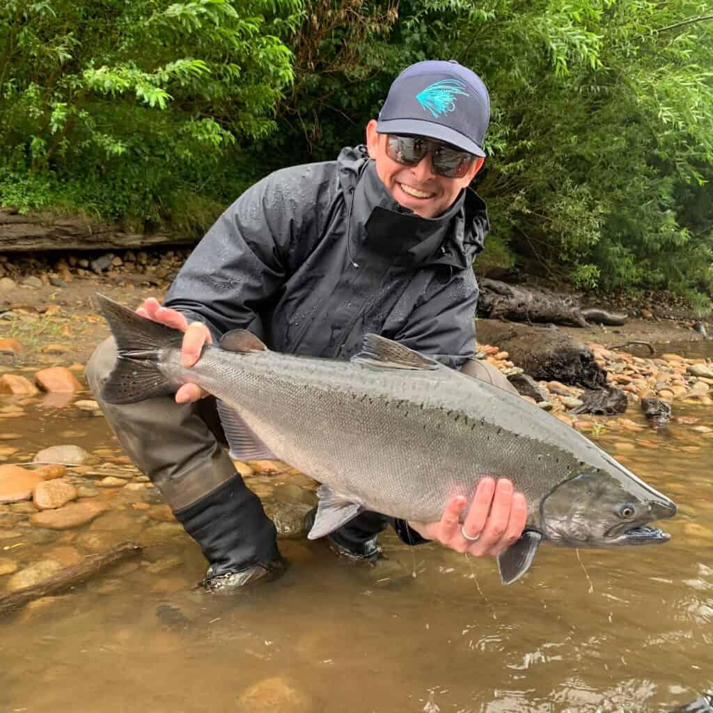hoh river salmon and steelhead fly fishing