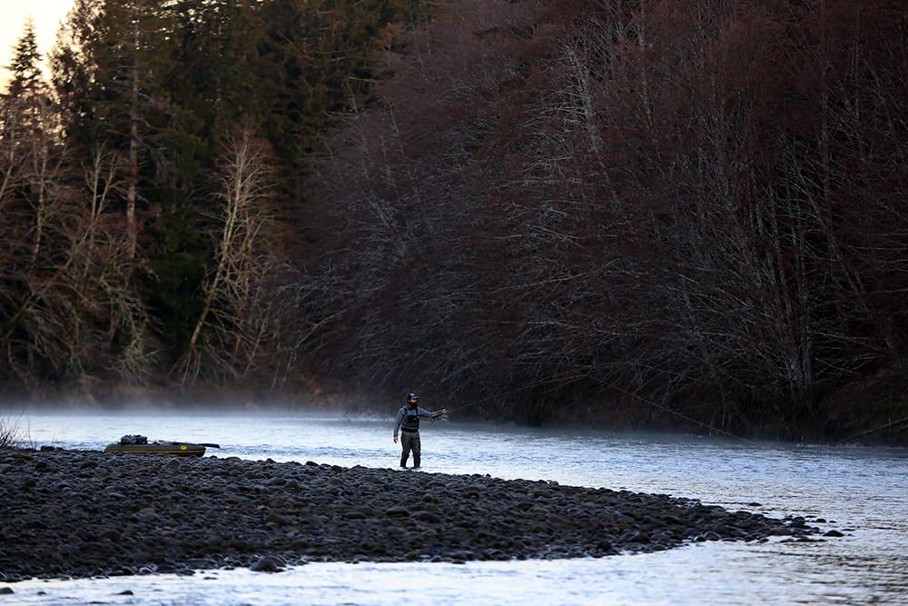 hoh river fly fishing