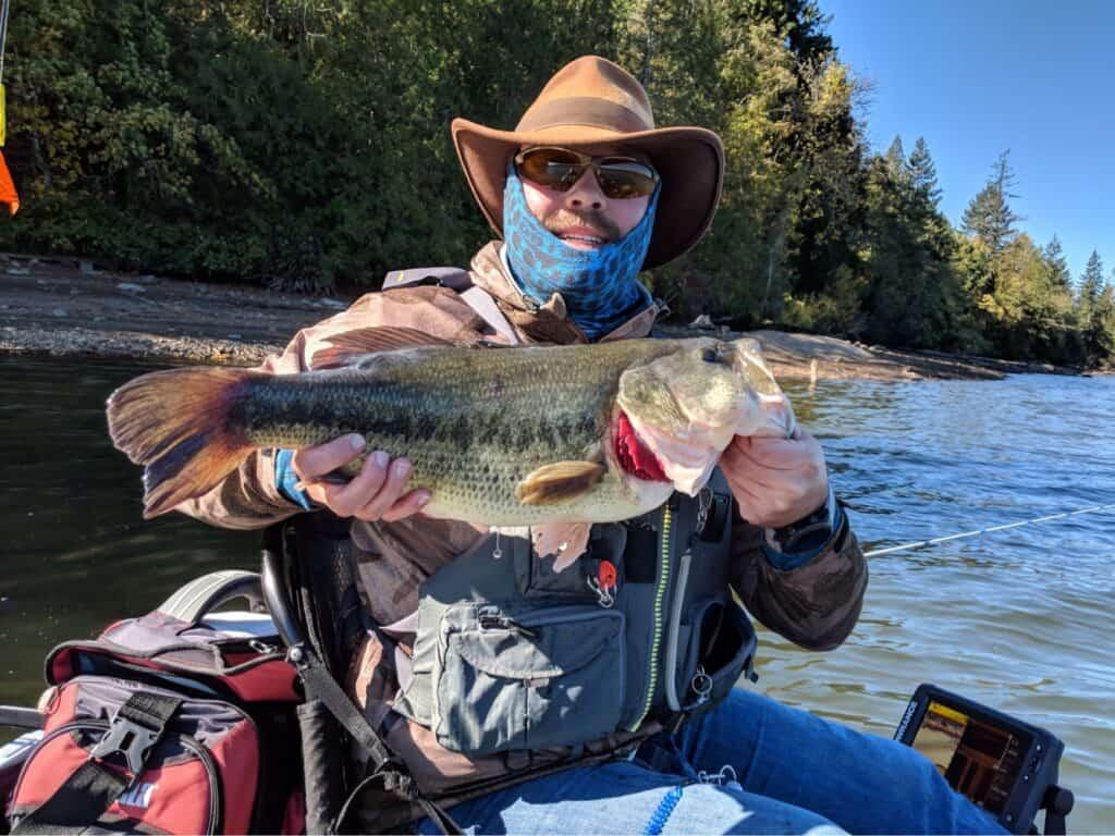 lacamas lake washington largemouth bass fishing