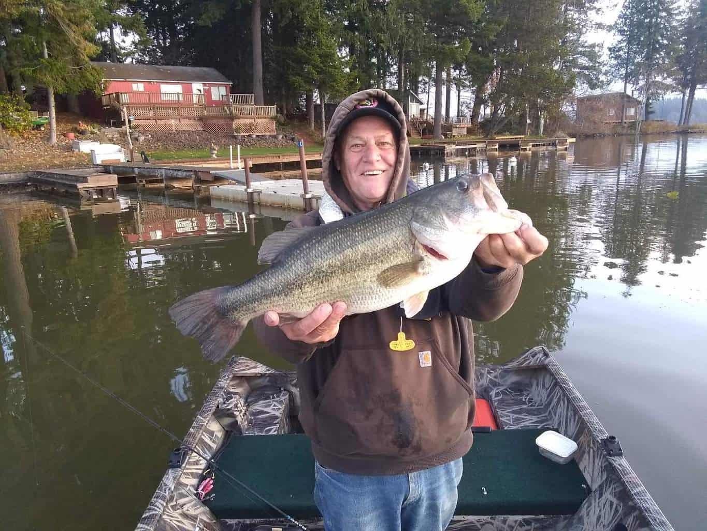 silver lake largemouth bass