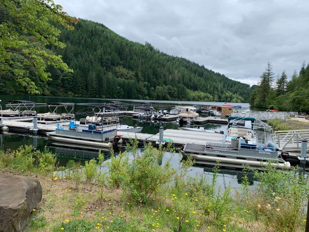 The marina at PGE's Promontory Park at North Fork Reservoir offers a variety of boat rentals for anglers and recreational paddlers and boaters, including fishing boats. Or you can launch your own boat at the developed ramp.