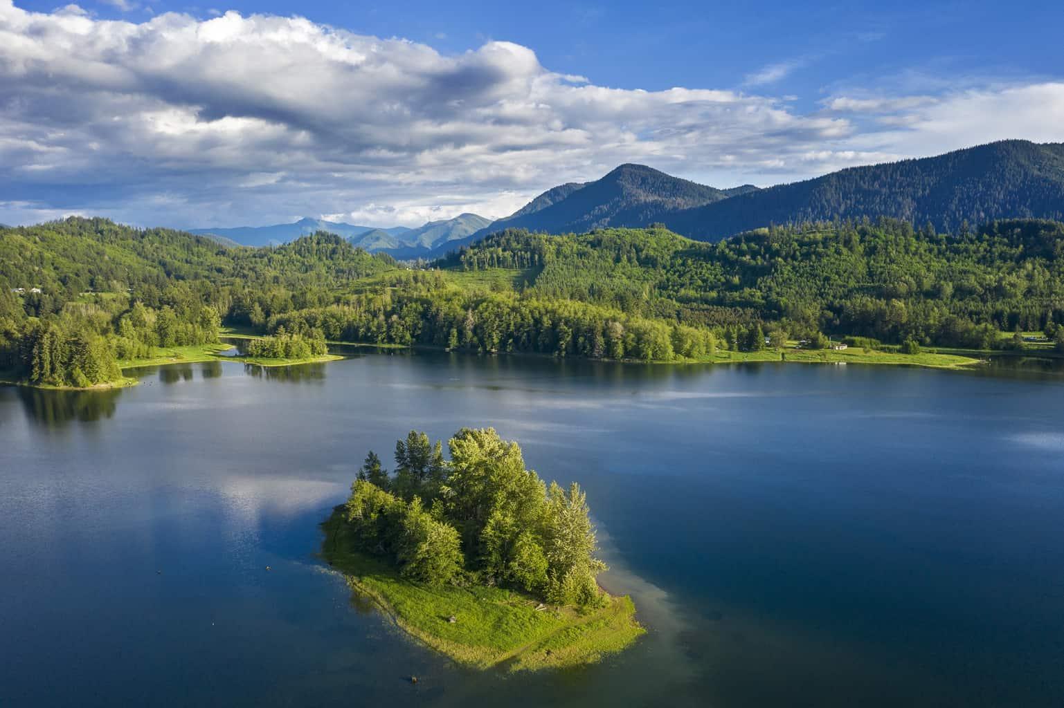 alder lake on nisqually river