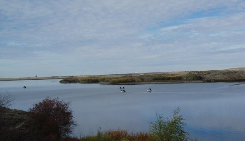 Sprague Lake in Eastern Washington is best known for trout and bass fishing.